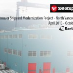 Seaspan's Shipyard Modernization Project Time Lapse - Steel Building Construction