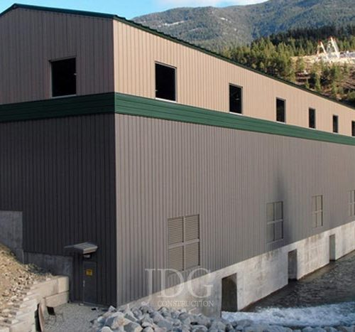 Power Generation Steel Building