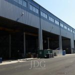 Pre-outfitting paint shop Offices steel buildings