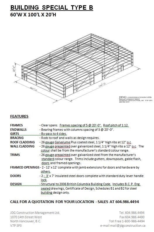 Building specials pre engineered steel metal buildings for Pre engineered house plans