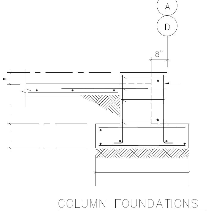 Concrete foundations pre engineered steel metal for Slab on grade house plans canada
