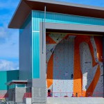steel construction - steel buildings - climbing gym
