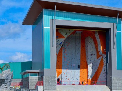 JDG builds steel construction for world-class climbing gym