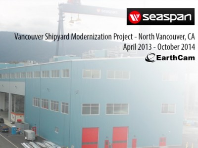 Watch Seaspan's Shipyard come to life